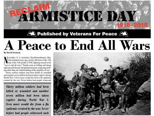 Click on Photo to Download VFP's Special Edition Armistice Day Paper