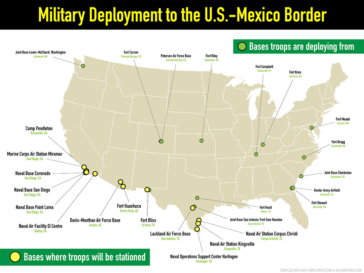 Veterans For Peace: No Troops to the Border! | Veterans For