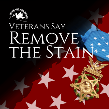 Image: Veterans Say Remove the Stain