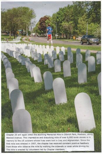 Veterans For Peace Memorial Mile >> Vfp Madison Hosts Memorial Mile And Peace Rally