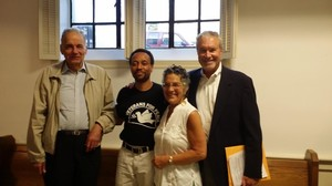 Ralph Nader, Michael T. McPhearson, Phyllis Bennis and Barry Ladendorf
