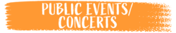 Public Events and Concerts