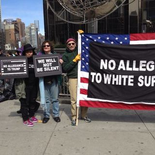 NYC - Vets Standing Up Against Hate and Islamophobia