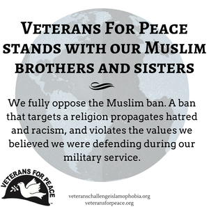 Read VFP's Statement on the Muslim Ban